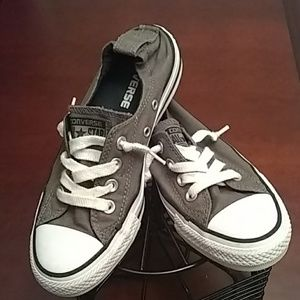 Women's size 6 converse boat shoes